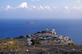 View over Il-Fawwara and Filfla island