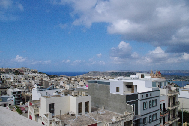 View over Gozo