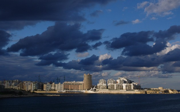 Clouds over Sliema