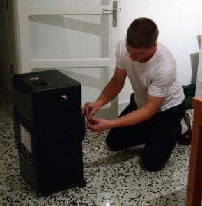 New gas heater