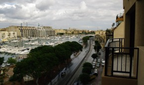 The road to Valletta