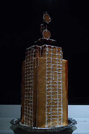 Portomaso Business Tower as  gingerbread house