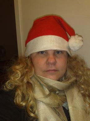I like Santa's cap!
