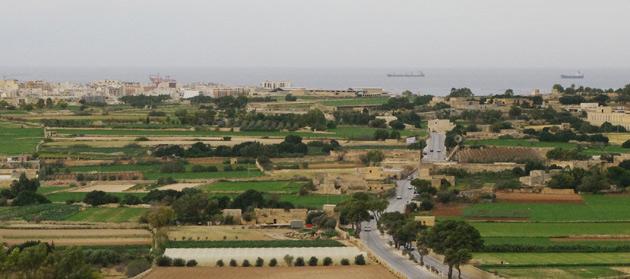 View over Malta, from Naxxar